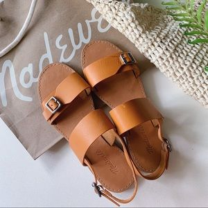 MADEWELL Boardwalk Buckle Sandals
